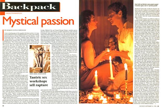 Article Preview: Mystical passion, September 1996 | Maclean's