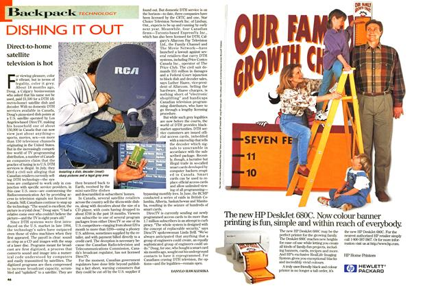 Article Preview: DISHING IT OUT, September 1996 | Maclean's
