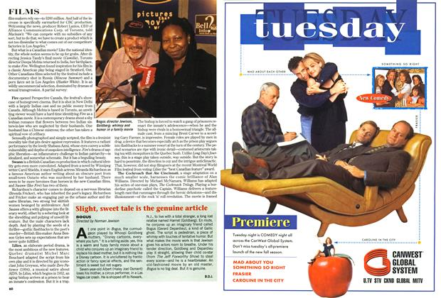 Article Preview: Slight, sweet tale is the genuine article, September 1996 | Maclean's