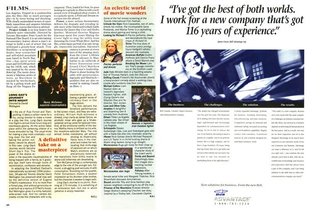 Article Preview: LONG DAY'S JOURNEY INTO NIGHT, September 1996 | Maclean's