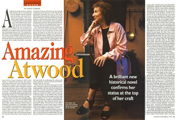 Article Preview: Amazing Atwood, September 1996 | Maclean's