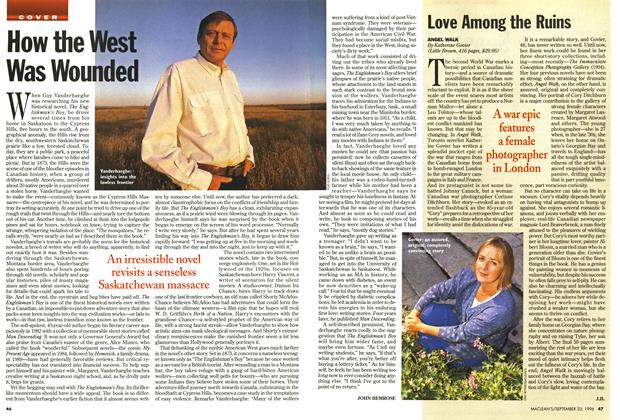 Article Preview: How the West Was Wounded, September 1996 | Maclean's
