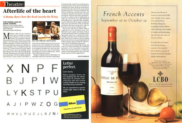 Article Preview: Afterlife of the heart, September 1996 | Maclean's