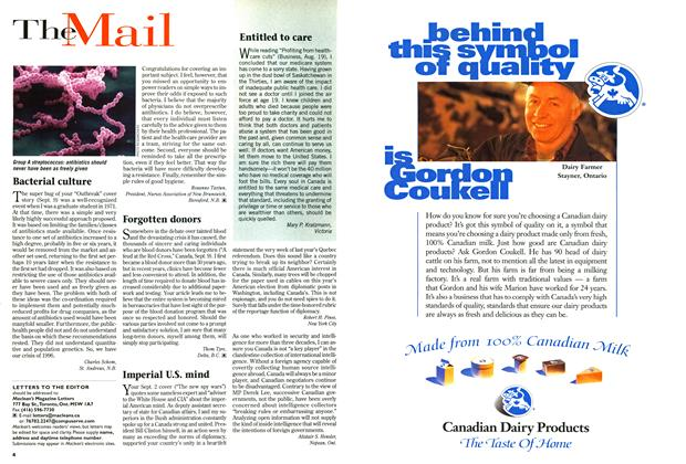 Article Preview: The Mail, September 1996 | Maclean's