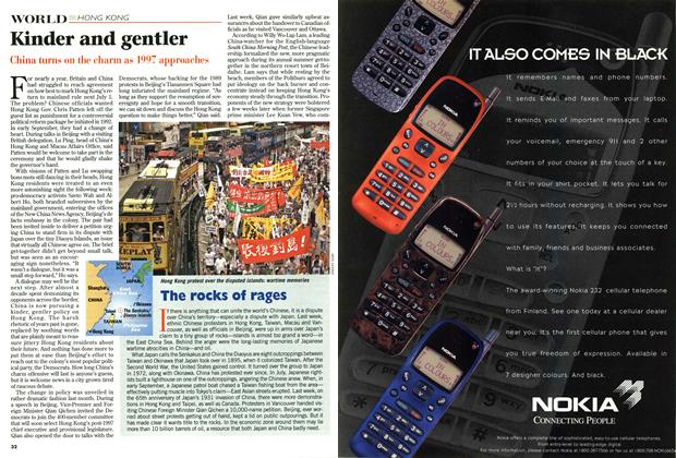 Article Preview: Kinder and gentler, September 1996 | Maclean's