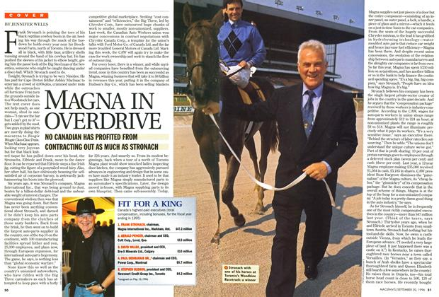 Article Preview: MAGNA IN OVERDRIVE, September 1996 | Maclean's