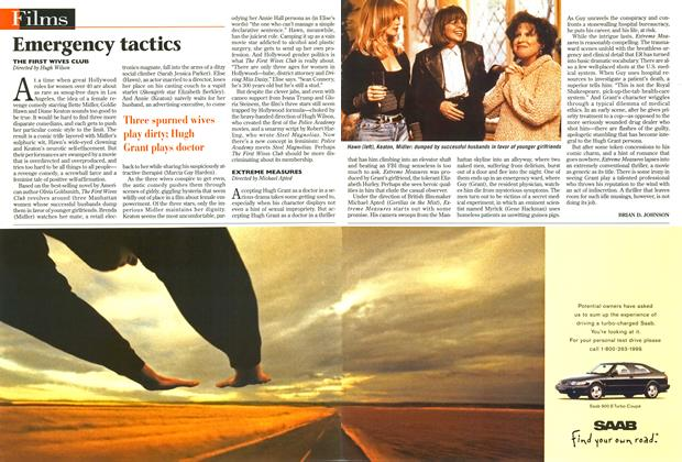 Article Preview: Emergency tactics, September 1996 | Maclean's