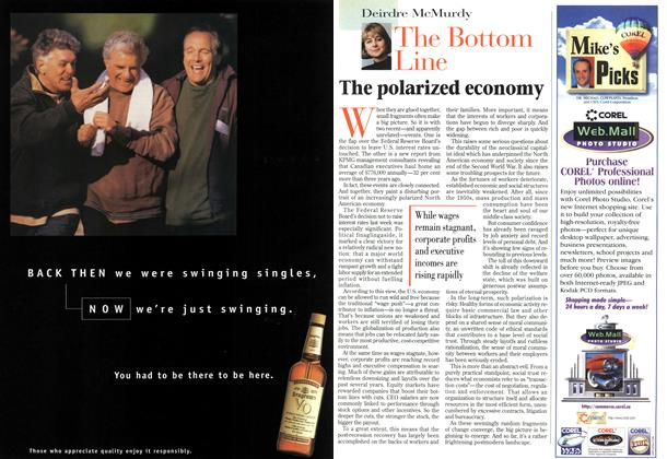 Article Preview: The polarized economy, October 1996 | Maclean's