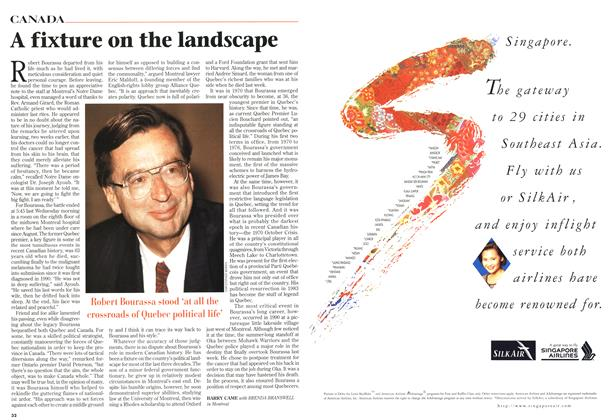Article Preview: A fixture on the landscape, October 1996 | Maclean's