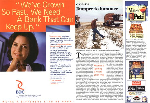 Article Preview: Bumper to bummer, October 1996 | Maclean's