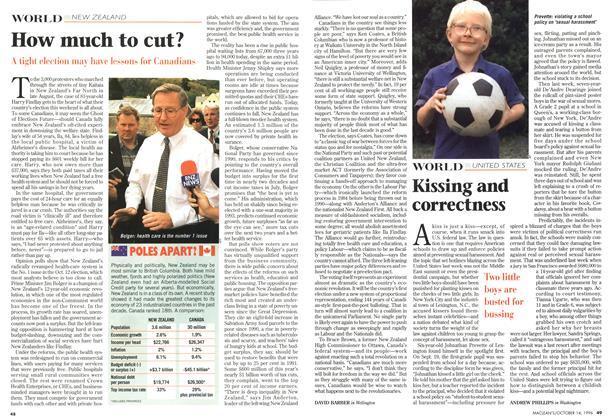 Article Preview: How much to cut?, October 1996 | Maclean's