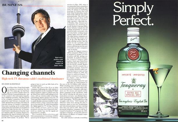 Article Preview: Changing channels, October 1996 | Maclean's