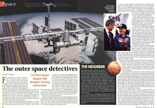 Article Preview: The outer space detectives, October 1996 | Maclean's
