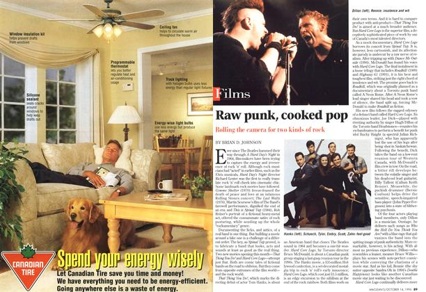 Article Preview: Raw punk, cooked pop, October 1996 | Maclean's