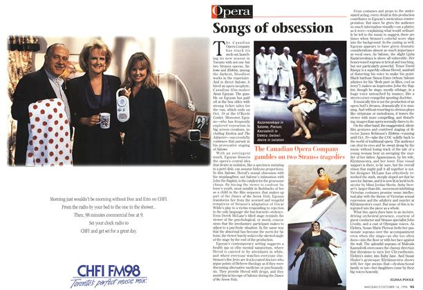 Article Preview: Songs of obsession, October 1996 | Maclean's