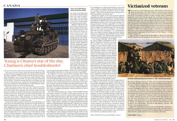 Article Preview: Victimized veterans, October 1996 | Maclean's
