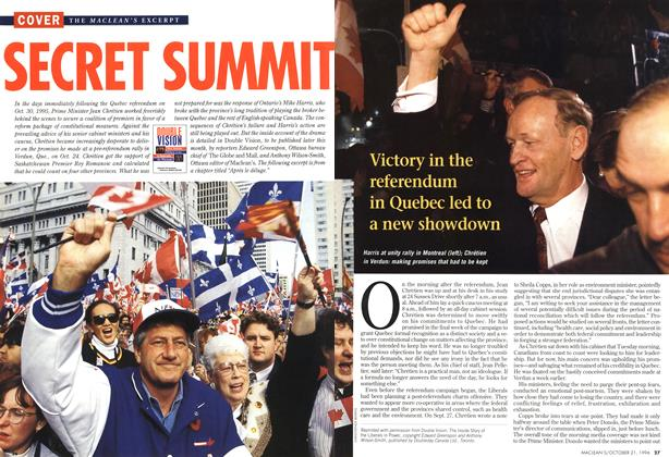 Article Preview: SECRET SUMMIT, October 1996 | Maclean's