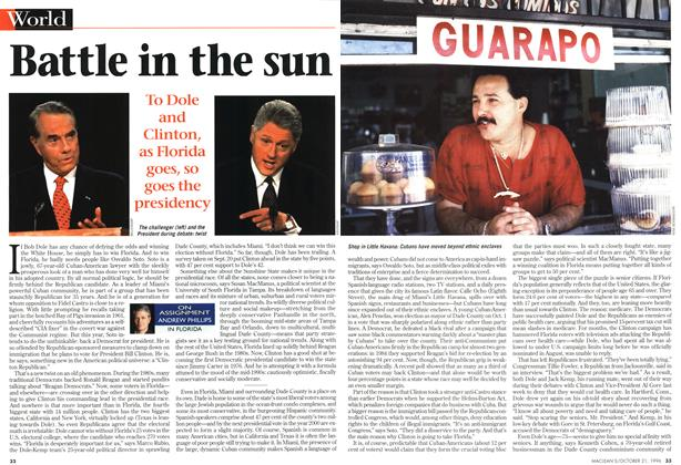 Article Preview: Battle in the sun, October 1996 | Maclean's