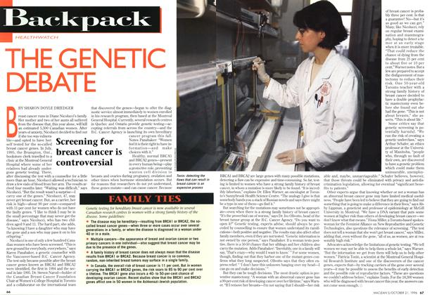 Article Preview: THE GENETIC DEBATE, October 1996 | Maclean's