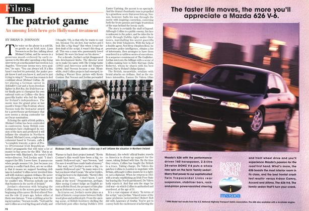 Article Preview: The patriot game, October 1996 | Maclean's