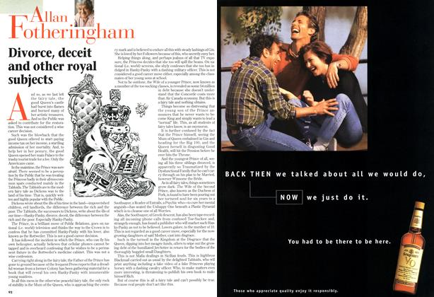 Article Preview: Divorce, deceit and other subjects, October 1996 | Maclean's