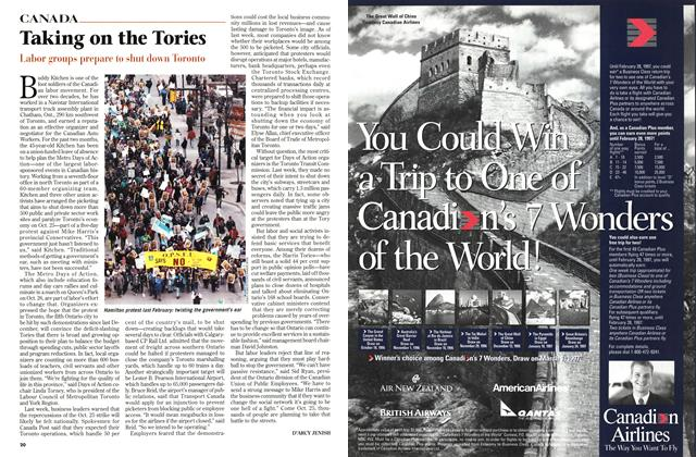 Article Preview: Taking on the Tories, OCTOBER  1996 | Maclean's