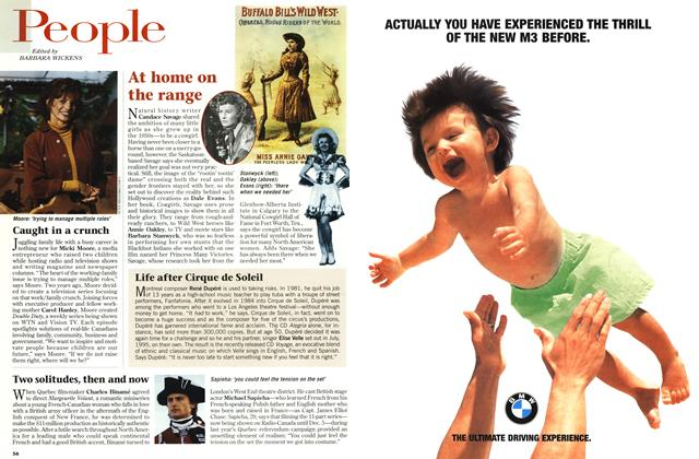 Article Preview: People, OCTOBER  1996 | Maclean's