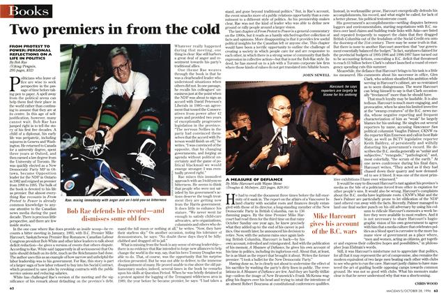 Article Preview: Two premiers in from the cold, OCTOBER  1996 | Maclean's