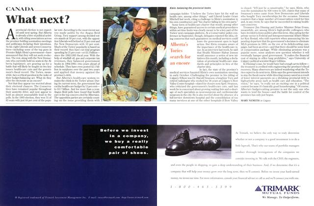 Article Preview: What next?, November 1996 | Maclean's