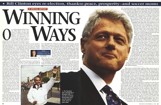 Article Preview: WINNING WAYS, November 1996 | Maclean's