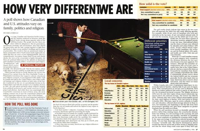 Article Preview: HOW VERY DIFFERENTWEARE, November 1996 | Maclean's