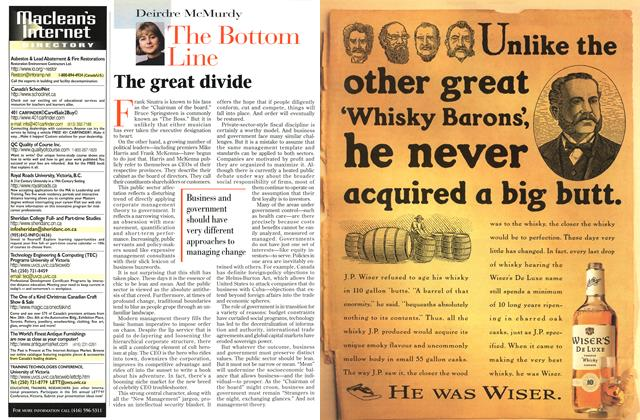 Article Preview: The Bottom Line, November 1996 | Maclean's