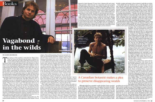 Article Preview: Vagabound in the wilds, November 1996 | Maclean's