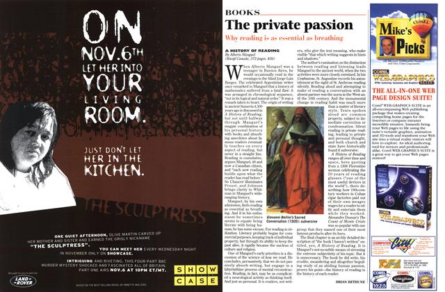 Article Preview: The private passion, November 1996 | Maclean's