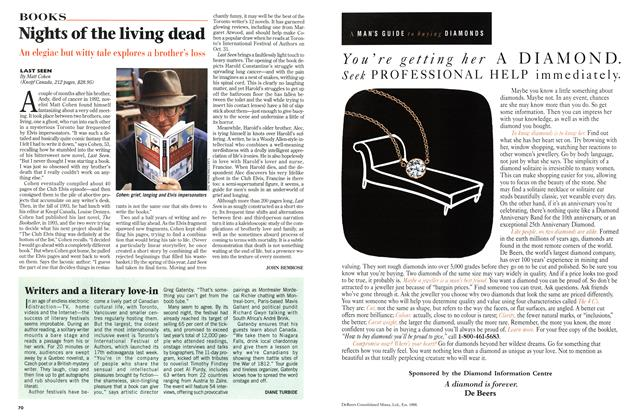 Article Preview: Writers and a literary love-in, November 1996 | Maclean's