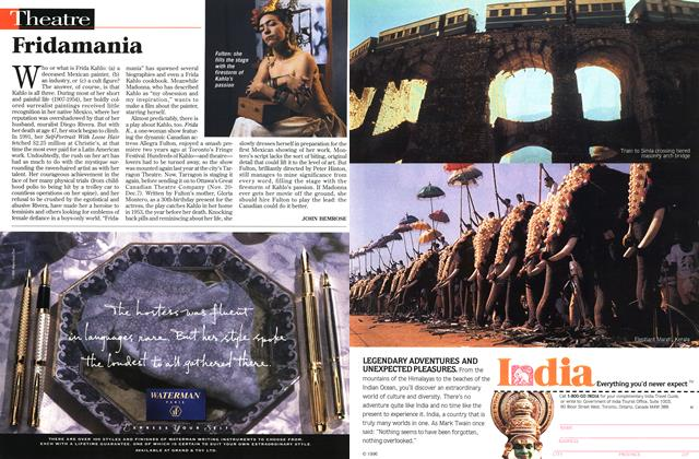 Article Preview: Fridamania, November 1996 | Maclean's