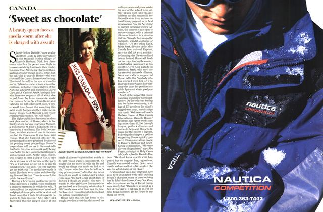 Article Preview: 'Sweet as chocolate', November 1996 | Maclean's