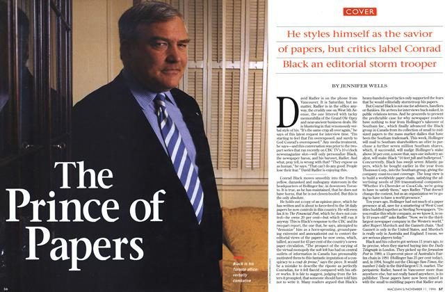 Article Preview: The Prince of Papers, November 1996 | Maclean's