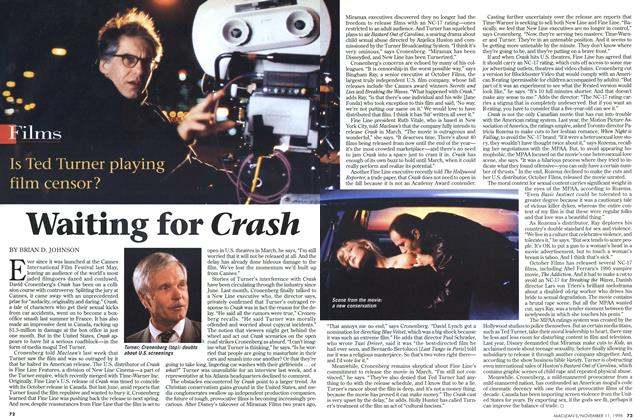 Article Preview: Waiting for Crash, November 1996 | Maclean's