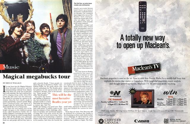 Article Preview: Magical megabucks tour, November 1996 | Maclean's