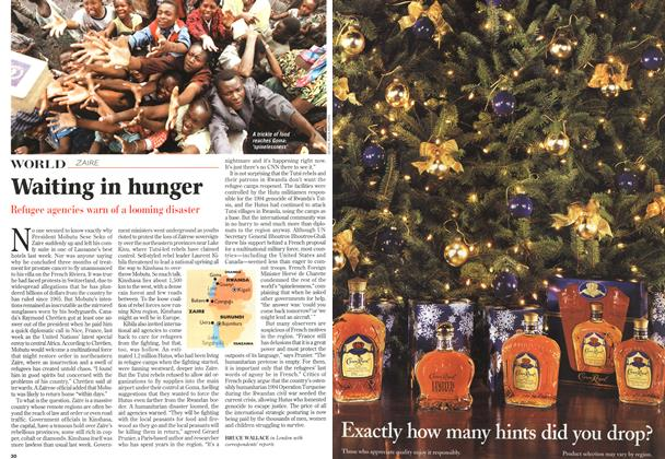 Article Preview: Waiting in hunger, November 1996 | Maclean's