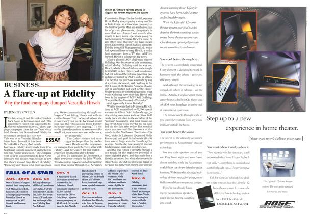 Article Preview: A flare-up at Fidelity, November 1996 | Maclean's