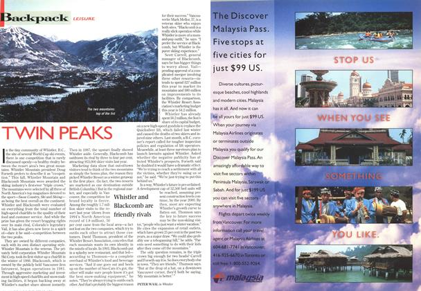 Article Preview: TWIN PEAKS, November 1996 | Maclean's