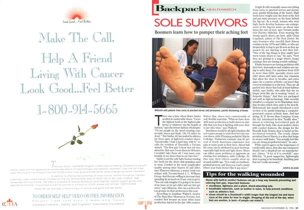 Article Preview: SOLE SURVIVORS, November 1996 | Maclean's