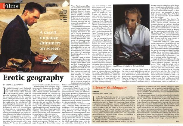 Article Preview: Erotic geography, November 1996 | Maclean's