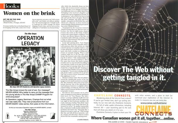 Article Preview: Women on the brink, November 1996 | Maclean's