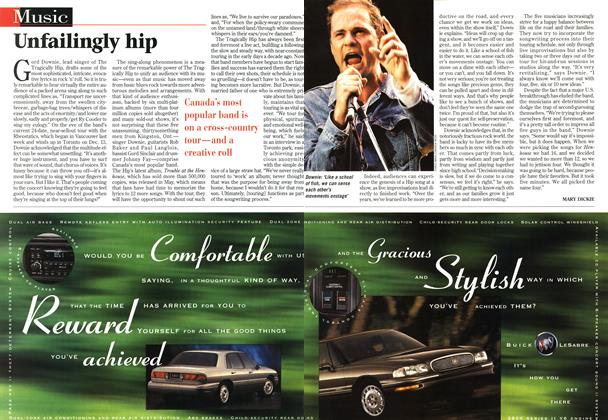 Article Preview: Unfailingly hip, November 1996 | Maclean's
