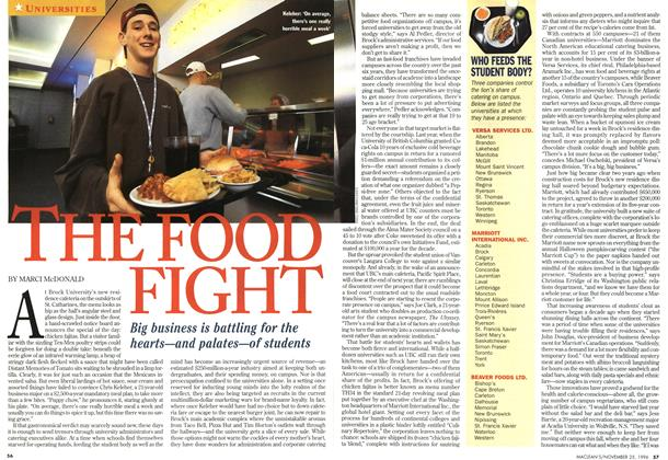 Article Preview: THE FOOD FIGHT, November 1996 | Maclean's