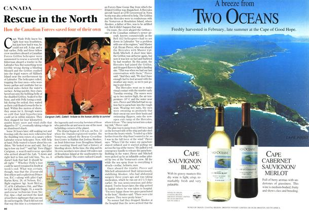 Article Preview: Rescue in the North, November 1996 | Maclean's