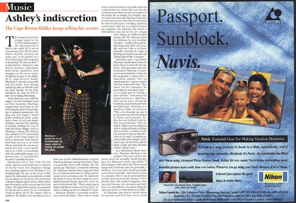 Article Preview: Ashley's indiscretion, November 1996 | Maclean's